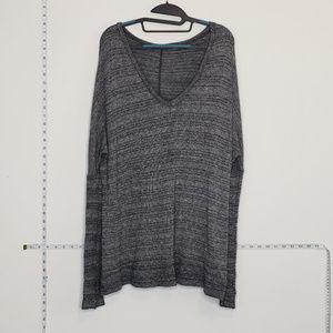 Brandy Melville oversized one size v-neck sweater